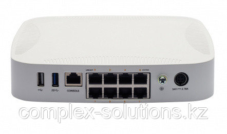Контроллер HP Enterprise ARUBA 7008 [RW] 8p 100W PoE+ 10/100/1000BASE-T 16 AP and 1K Client Controlle + 9 x