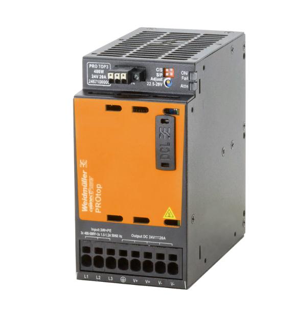 Источник питания PRO TOP3 480W 48V 10A, 3-фазный