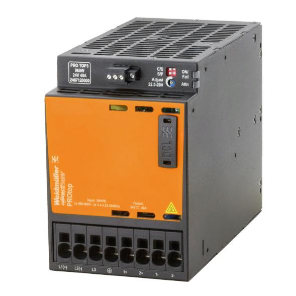 Источник питания  PRO TOP3 960W 24V 40A, 3-фазный