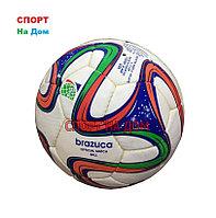 Кожаный футбольный мяч Adidas Brazuca (Пакистан) 4 размер