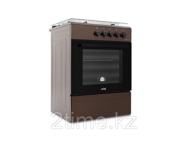 Плита газовая Artel APETITO  00-G, коричневый, серый, белый