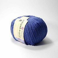 Пряжа Детский каприз Пехорка( 50% меринос, 50 % фибра) Корол.синий
