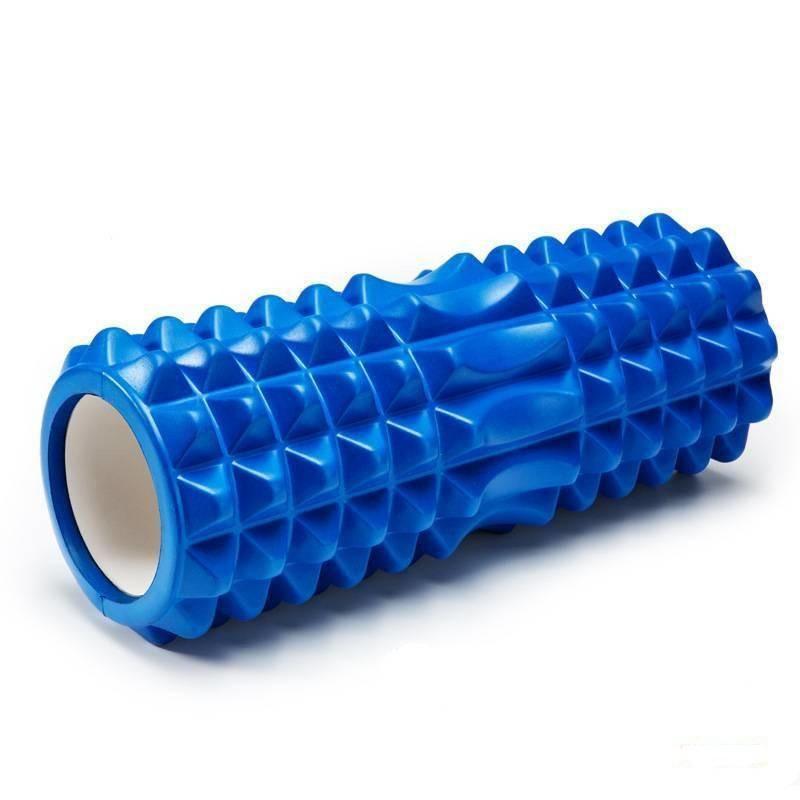 Массажный валик (ролик) для фитнеса и йоги 45 см - фото 3
