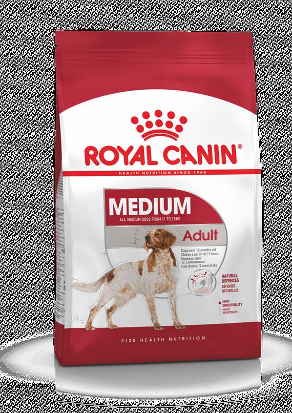 Корм Royal Canin Medium Adult для взрослых собак средних размеров - 4 кг