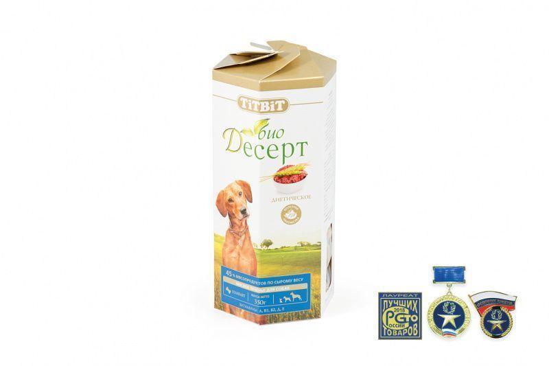 Печенье диетическое Стандарт для собак, TitBit - 350 г