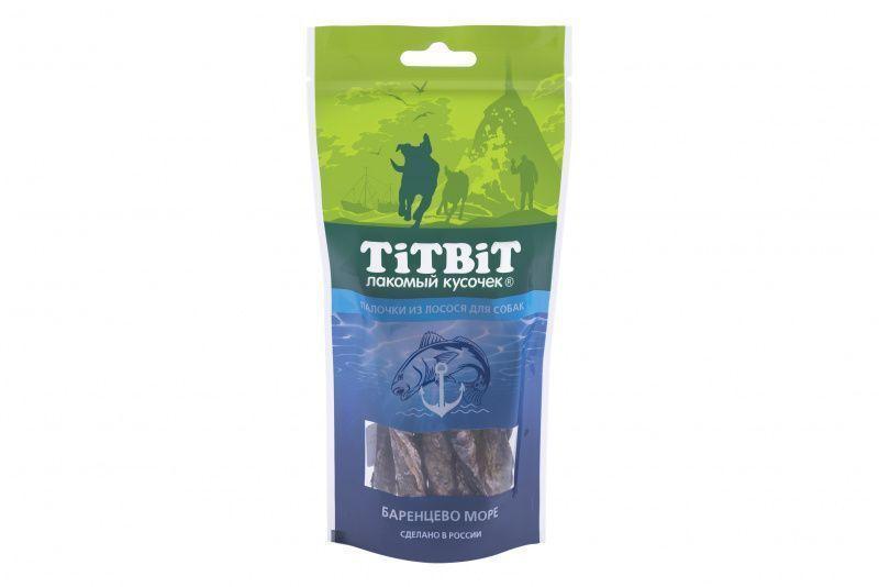 Палочки из лосося для собак, TitBit - 75 г