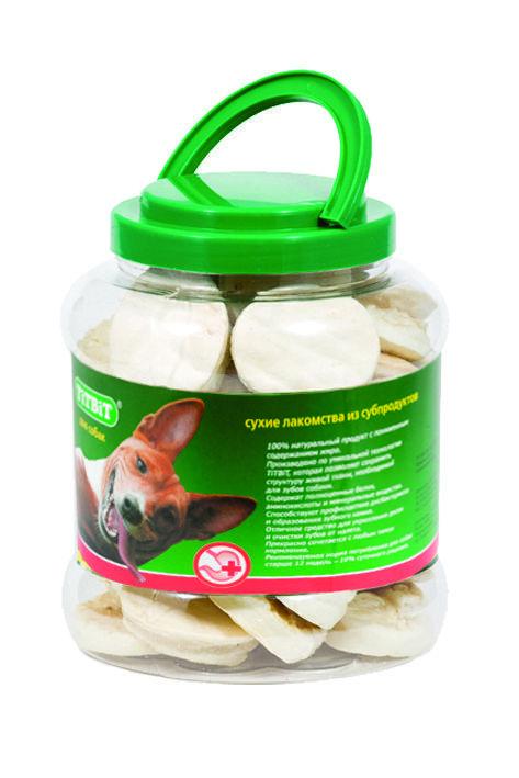 Галеты для собак из говяжьей кожи, TitBit - 450 г