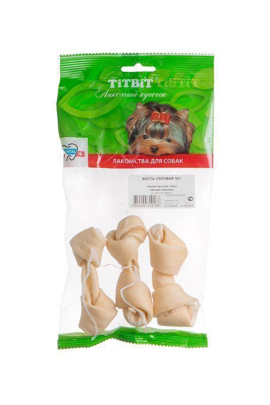 Кость узловая №1 для собак, TitBit - 30 г