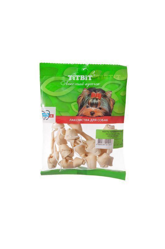 Кость узловая Мини для собак, TitBit - 100 г
