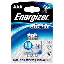 Элемент питания FR03 AAA Energizer Lithium 2 штуки в блистере.