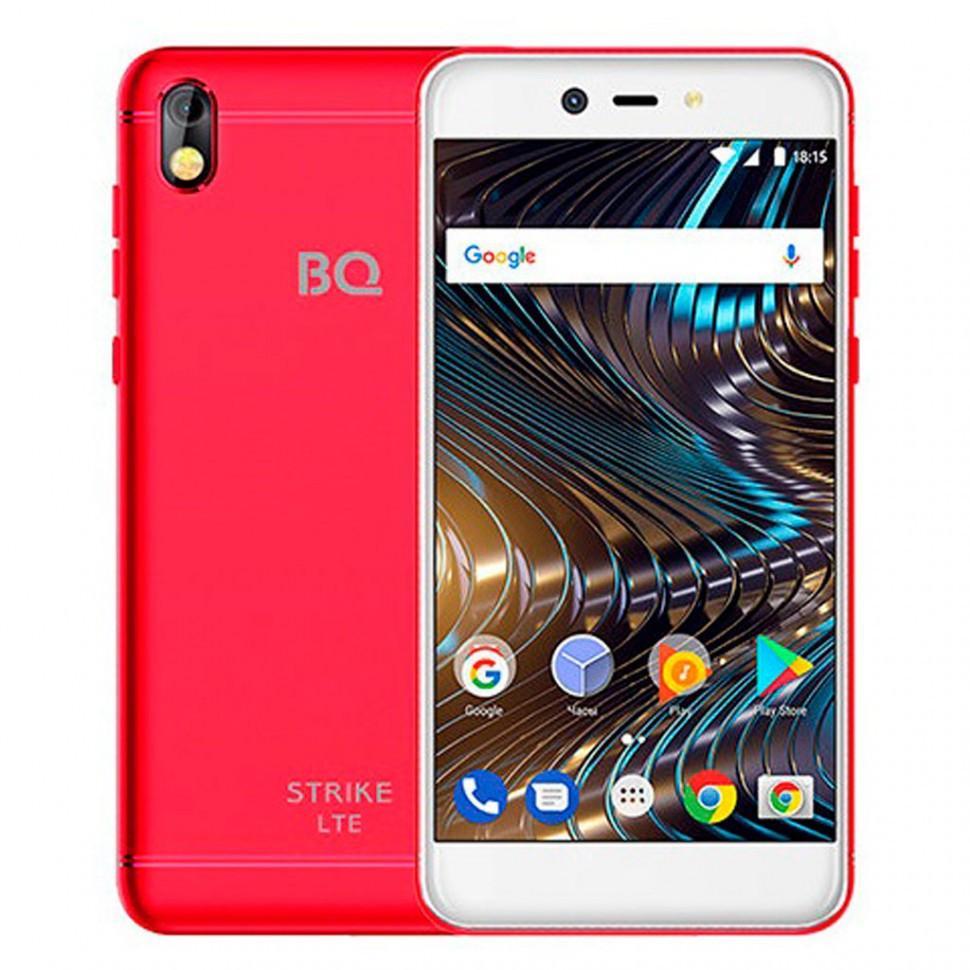 Смартфон BQ 5209L Strike LTE Red