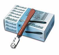 Стеклорез Silberschnitt, с деревянной ручкой и роликом из нержавеющей стали.