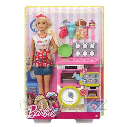 Barbie Пекарь с набором для выпечки FHP57
