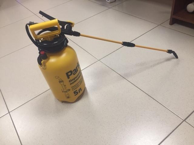 Опрыскиватель-распылитель для дезинфекции, на 5 литров