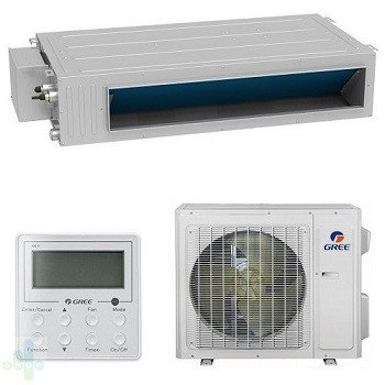 Канальный кондиционер Gree 42 GU125PHS/A1-K/GU125W/A1-M (без соединительной инсталляции), фото 2