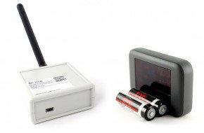 Беспроводные счетчики посетителей серия R-COUNT RC-USB-G графит на 1 проход