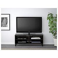 БЕСТО Тумба под ТВ, черно-коричневый, 120x40x48 см, фото 1