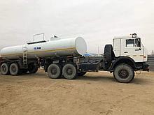 Водовоз питьевая вода КАМАЗ 65115 8,7м3
