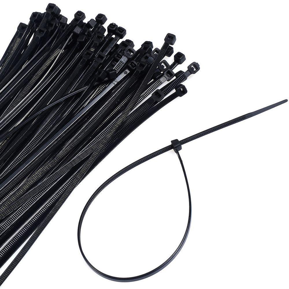 ХОМУТЫ пластмассовые 4,8*200мм (100шт.) черные