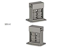 Модуль навесной (МН-4), для нанесения ромбовидной фактуры на ПТ 40x20 и ПТ 40х40 с толщиной стенки до 2 мм