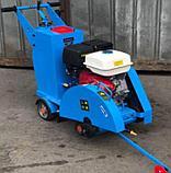 Швонарезчик с бензиновым двигателем lifan и бачком для воды, фото 6