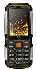 Мобильный телефон BQ-2430 Tank Power (Камуфляж+Серебро)