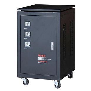 Стабилизатор напряжения РЕСАНТА АСН-80000/3-ЭМ 80 кВт Трехфазный электромеханический