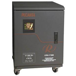 Стабилизатор пониженного напряжения РЕСАНТА СПН-17000 17 кВт Однофазный, Релейный