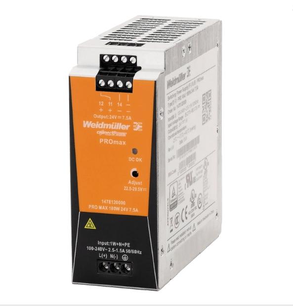 Блок питания PRO MAX 180W 24V 7,5A, 1-фазный