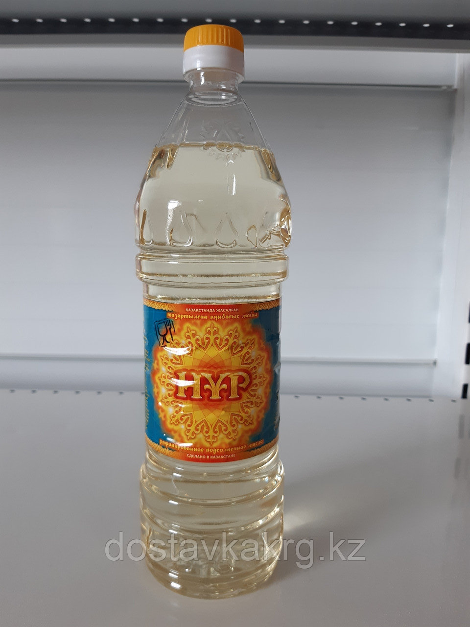 """Подсолнечное масло """"Нур"""" 1 л"""