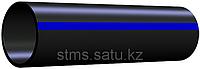 Труба ПЭ 125 х 6,0 мм SDR 21-8 бар питьевая 12 м вес 1м 2,26 кг