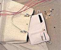 Органайзер одинарный текстильный для сумок однотонный белый