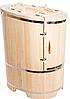 Кедровая фито-бочка овальная