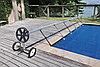 Телескопическое сматывающее устройство - катушка CR1-T/81-3/245 для солярной плёнки (4,9 - 6,45 м), фото 4