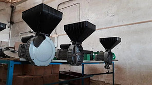Роторная зернодробилка ГАЗДА 1,7 кВт, фото 3