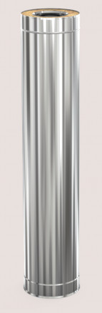 Сэндвич-труба D115/200, 1000 мм, Профи з/н