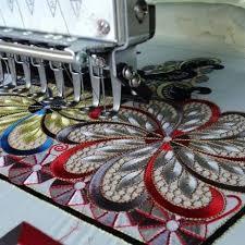 Машинная (компьютерная) вышивка