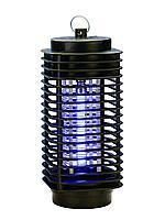 Ультрафиолетовая антимоскитная лампа 2-в-1: убивает насекомых и обеззараживает воздух, 3 Вт, черный