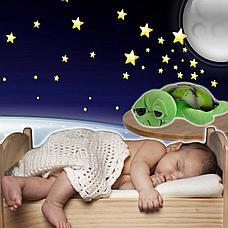 Ночник - проектор Черепаха (голубая), фото 3