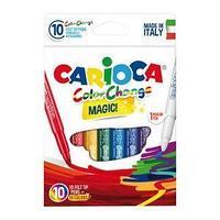 Carioca Фломастеры меняющие цвет, Color Change, 9 цв.+1, 10 шт / уп.