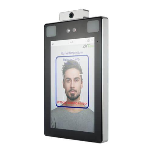 Терминал распознавания лица с функцией обнаружения повышенной температуры ProFaceX-TD