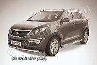 Защита переднего бампера d76 KIA Sportage 2010-16