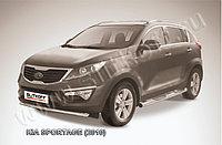 Защита переднего бампера d57 KIA Sportage 2010-16