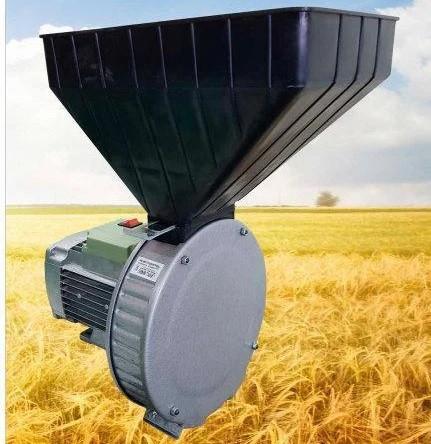 Зернодробилка роторная, для зерна и кукурузы ГАЗДА Р-71 медная обмотка двигателя 1,7кВт Бесплатная Доставка!