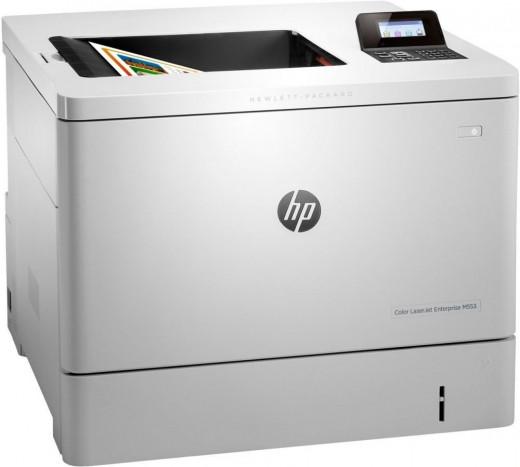 Принтер HP Color LaserJet Enterprise (M553n (B5L24A)) белый
