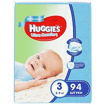 Подгузники Huggies Ultra Comfort 3 (5-9kg) 94 шт. для мальчиков