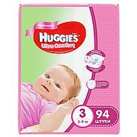 Подгузники Huggies Ultra Comfort 3 (5-9kg) 94 шт. для девочек