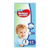 Подгузники Huggies Ultra Comfort 5 (12-22kg) 64 шт. для мальчиков