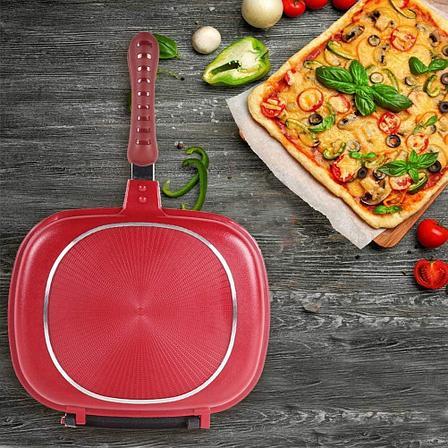 Двойная сковородка для гриля 28 см, фото 2