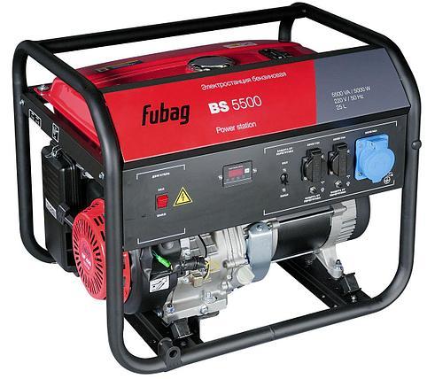 Генератор бензиновый, FUBAG BS 5500, 5 кВт, фото 2